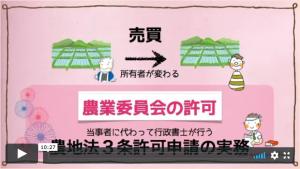 農地法第3条許可の実務